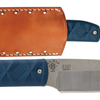 KA-BAR® Snody Boss with Leather Sheath (5101)