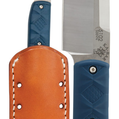 KA-BAR® Snody Big Boss with Leather Sheath (5102)