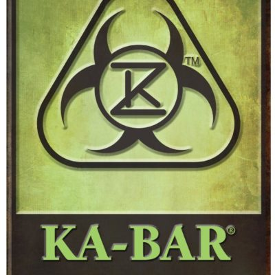 Original KA-BAR® Zombie® Knife Metal Sign (5700SIGN)