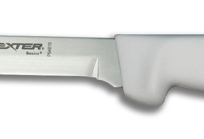 Dexter Russell Basics 6″ Wide Boning Knife White Handle RHP94819 (31615)