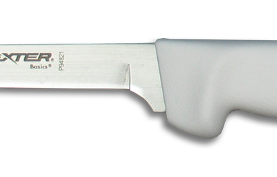 Dexter Russell Basics 6″ Stiff Narrow Boning Knife White Handle RHP94821 (31617)
